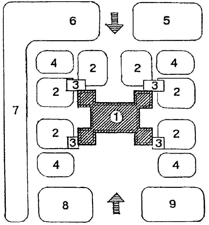 Схема организации места для