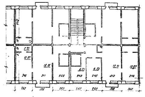 Рис. 1 План секции